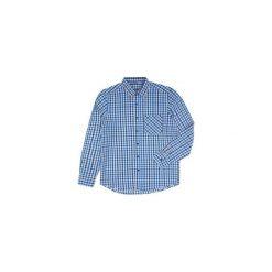 Koszula męska z mankietami, z kieszonką, z kołnierzykiem casual tkanina. Szare koszule męskie marki TXM, m. Za 27,99 zł.
