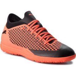 Buty PUMA - Future 2.4 Tt 104841 02 Puma Black/Shocking Orange. Brązowe buty skate męskie marki Puma, z materiału, do piłki nożnej. W wyprzedaży za 179,00 zł.