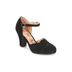 Czółenka Miss L'Fire  AMBER. Czarne buty ślubne damskie Miss L'Fire. Za 749,00 zł.