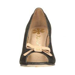 CZÓŁENKA KARINO 0107/003-. Brązowe buty ślubne damskie Casu, na koturnie. Za 209,99 zł.