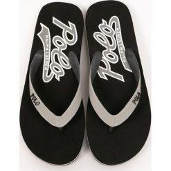 Polo Ralph Lauren - Japonki. Czarne japonki męskie marki Polo Ralph Lauren, z materiału. W wyprzedaży za 99,90 zł.