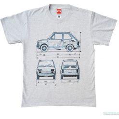 Koszulka MALUCH grey - FIAT 126. Czarne bluzki z odkrytymi ramionami marki Pakamera, m, z kapturem. Za 77,00 zł.