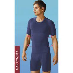 Podkoszulki męskie: Bezszwowy wyszczuplający podkoszulek z krótkimi rękawami HASTER SilverMax