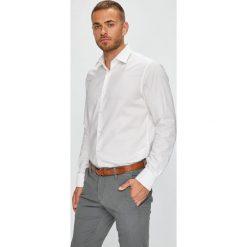 Pierre Cardin - Koszula. Szare koszule męskie na spinki marki Pierre Cardin, m, z bawełny, z klasycznym kołnierzykiem, z długim rękawem. W wyprzedaży za 239,90 zł.