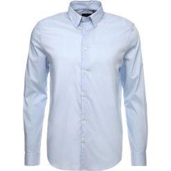 Koszule męskie na spinki: Sisley SLIM FIT Koszula biznesowa lightblue
