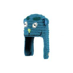 Barts  Boys Czapka Mobi Inka blue. Niebieskie czapeczki niemowlęce marki Barts, w kolorowe wzory, z materiału. Za 79,22 zł.
