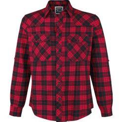Koszule męskie na spinki: RED by EMP Watching You Koszula czarny/czerwony