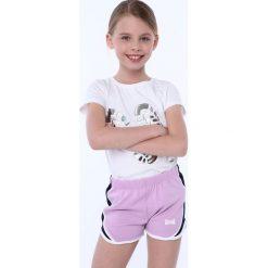Spodenki dziewczęce: Spodenki dziewczęce lawendowe NDZ8644