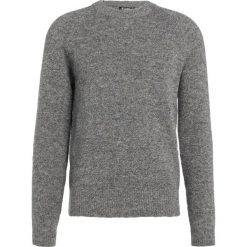 Tiger of Sweden HOLKAS   Sweter grey street. Brązowe swetry klasyczne męskie marki Tiger of Sweden, m, z wełny. W wyprzedaży za 599,20 zł.