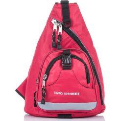 Plecak sportowy na ramię  Bag Street. Czarne plecaki męskie marki Bag Street, sportowe. Za 59,90 zł.