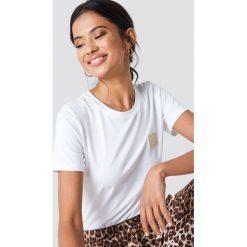 Samsoe & Samsoe T-shirt Lexi - White. Zielone t-shirty damskie marki Emilie Briting x NA-KD, l. Za 161,95 zł.