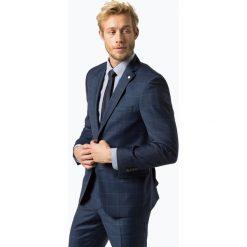 Andrew James New York - Męska marynarka od garnituru modułowego, niebieski. Szare marynarki męskie slim fit marki Reserved, z dzianiny. Za 799,95 zł.