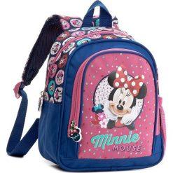 Plecak MINNIE MOUSE - PL10MM16 Granatowy. Niebieskie plecaki męskie Minnie Mouse, z motywem z bajki, sportowe. Za 54,99 zł.