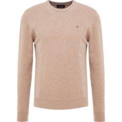 Hackett London Sweter camel. Brązowe swetry klasyczne męskie Hackett London, l, z materiału. Za 569,00 zł.