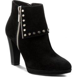Botki LASOCKI - A208 Czarny. Niebieskie buty zimowe damskie marki Lasocki, ze skóry. Za 279,99 zł.