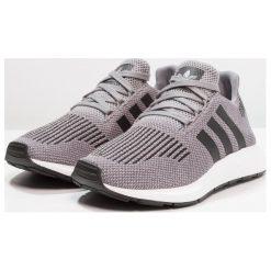 Adidas Originals SWIFT RUN Tenisówki i Trampki grey three/core black/medium grey heather. Szare tenisówki damskie adidas Originals, z materiału. W wyprzedaży za 341,10 zł.