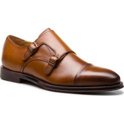 Półbuty ALDO - Curien 56948423 28. Brązowe buty wizytowe męskie ALDO, z materiału. W wyprzedaży za 369,00 zł.