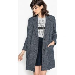 Płaszcze damskie: Męski płaszcz w odcieniach szarości