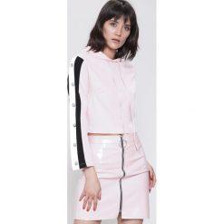 Bluzy rozpinane damskie: Różowa Bluza Ultra Sporty