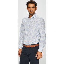 Pierre Cardin - Koszula. Szare koszule męskie na spinki marki S.Oliver, l, z bawełny, z włoskim kołnierzykiem, z długim rękawem. W wyprzedaży za 259,90 zł.
