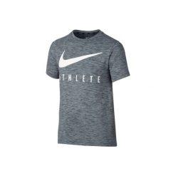 Koszulka fitness Nike. Czarne t-shirty dziewczęce marki Nike. W wyprzedaży za 79,99 zł.