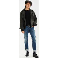 Swetry męskie: Jack & Jones JORPANNEL CREW NECK Sweter black