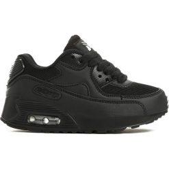 Czarne Buty Sportowe Playground. Czarne buty sportowe chłopięce marki Born2be, z materiału, na płaskiej podeszwie, na sznurówki. Za 59,99 zł.