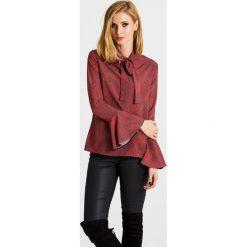 Naoko - Bluzka Wildfire x Edyta Górniak. Szare bluzki nietoperze marki NAOKO, l, z elastanu, casualowe. W wyprzedaży za 99,90 zł.