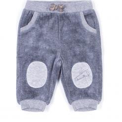 Spodnie. Szare chinosy chłopięce KNIGHT, z bawełny. Za 29,90 zł.