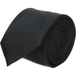 Krawat platinum czarny classic 201. Czarne krawaty męskie Recman. Za 49,00 zł.
