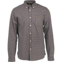 Koszule męskie na spinki: Lyle & Scott TATTERSAL CHECK  Koszula navy