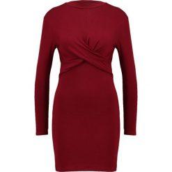 Sukienki hiszpanki: Topshop Petite Sukienka z dżerseju burgundy