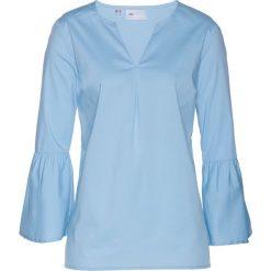 Tunika bonprix lodowy niebieski. Niebieskie tuniki damskie bonprix. Za 74,99 zł.