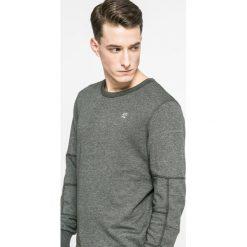 G-Star Raw - Bluza. Szare bluzy męskie rozpinane marki G-Star RAW, l, z bawełny, bez kaptura. W wyprzedaży za 249,90 zł.