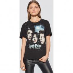 Koszulka Harry Potter - Czarny. Czarne t-shirty damskie marki Cropp, l. Za 49,99 zł.