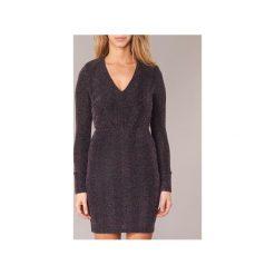 Sukienki krótkie Morgan  RIKRAK. Czarne sukienki hiszpanki Morgan, z krótkim rękawem, mini. Za 247,20 zł.