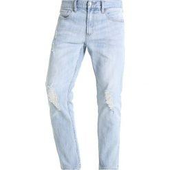 Obey Clothing JUVEE FLOODED Jeansy Slim Fit destroyed indigo. Niebieskie jeansy męskie Obey Clothing. Za 359,00 zł.