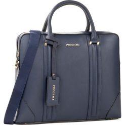 Torba na laptopa PUCCINI - BC27461 Granatowy 7A. Niebieskie plecaki męskie marki Puccini. W wyprzedaży za 169,00 zł.