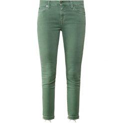 7 for all mankind ILLUSION Jeans Skinny Fit green. Zielone boyfriendy damskie 7 for all mankind, z bawełny. Za 929,00 zł.