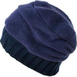 Czapka damska Bezpieczna klasyka granatowa. Niebieskie czapki zimowe damskie Art of Polo. Za 66,01 zł.