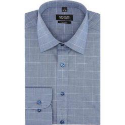 Koszula versone 2764 długi rękaw slim fit niebieski. Niebieskie koszule męskie slim Recman, m, z długim rękawem. Za 149,00 zł.