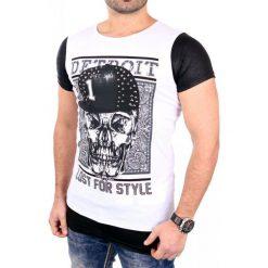 T-shirty męskie: CRSM T-shirt męski biały r. S (16006-2)