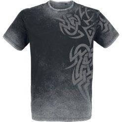 T-shirty męskie z nadrukiem: Outer Vision Broken Symbol T-Shirt czarny