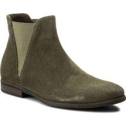 Sztyblety KARINO - 2430/026-F Zielony/Welur. Fioletowe buty zimowe damskie marki Karino, ze skóry. W wyprzedaży za 179,00 zł.