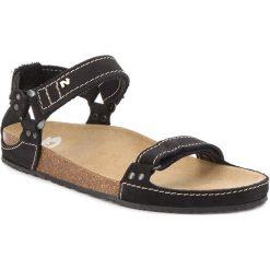 Sandały damskie: Sandały NIK – 07-0095-01-9-01-03 Czarny