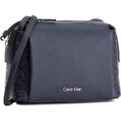 Torebka CALVIN KLEIN BLACK LABEL - Mish4 Small Crossbody K60K602207  411. Czarne listonoszki damskie marki Calvin Klein Black Label, z materiału. W wyprzedaży za 289,00 zł.