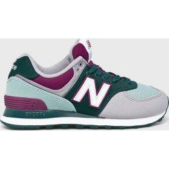 New Balance - Buty WL574INC. Szare buty sportowe damskie New Balance, z gumy. W wyprzedaży za 299,90 zł.