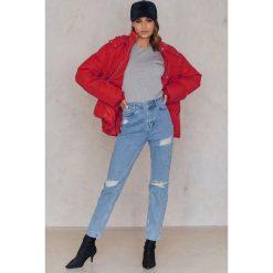 Spodnie z wysokim stanem: Statement By NA-KD Influencers Jeansy Noholita - Blue