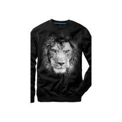 Bluza UNDERWORLD casual Lion. Szare bluzy męskie rozpinane marki Underworld, m, z nadrukiem, z bawełny. Za 119,99 zł.
