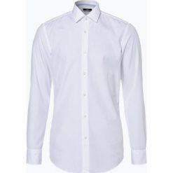 BOSS - Koszula męska łatwa w prasowaniu – Jesse, czarny. Czarne koszule męskie na spinki marki Boss, m. Za 429,95 zł.